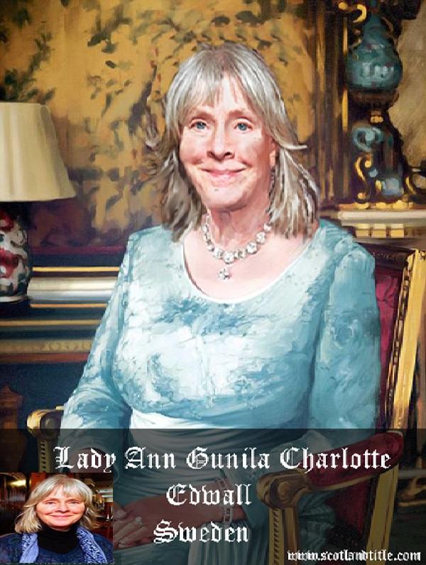 Lady Ann Gunila Charlotte Edwall