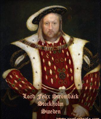 Lord Felix Strömbäck